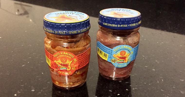 Filets d'anchois de Cefalù*