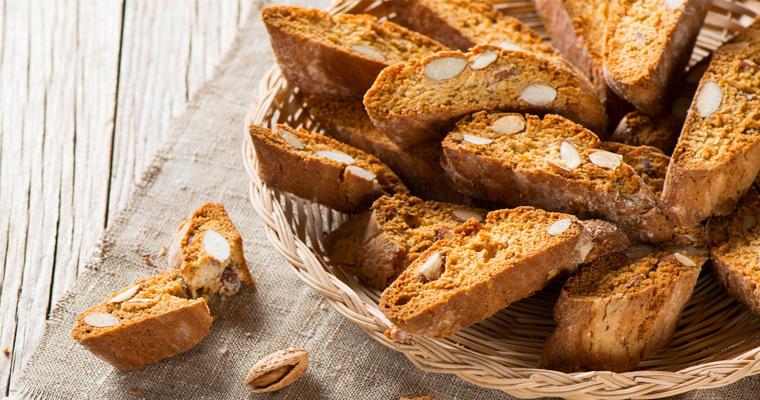 Cantucci Cantuccini Biscuits de Prato Biscuits aux amendes