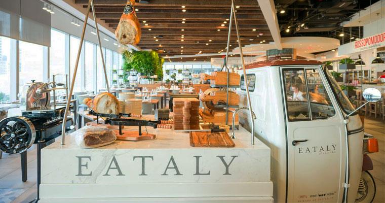 Ouverture d'Eataly World à Bologne le 15 novembre 2017